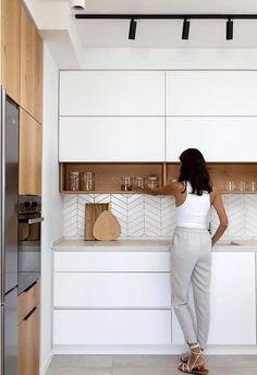Home Decor Kitchen .Home Decor Kitchen Kitchen Room Design, Kitchen Cabinet Design, Modern Kitchen Design, Home Decor Kitchen, Interior Design Kitchen, Home Kitchens, Kitchen Ideas, Kitchen Cabinets, Kitchen Designs