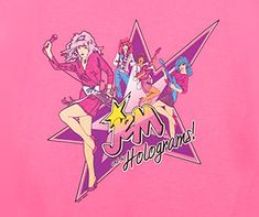Jem and the Holograms t-shirt – Jem Cartoon Band tees Jem Cartoon, Kickin It Old School, Jem And The Holograms, 80s Rock, 80s Kids, Just Girly Things, Rocker Chic, My Childhood Memories, Band Tees