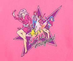 Jem and the Holograms t-shirt – Jem Cartoon Band tees