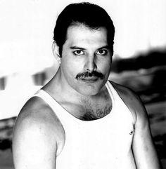 Freddie Mercury of the group Queen