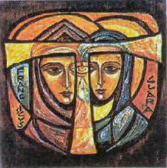 St Francis and Claire