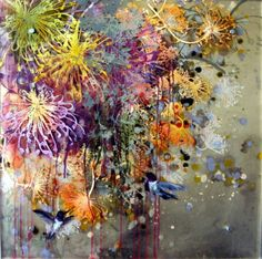 Pollination_at_work_oil_on_acrylic_sheet_24x24in, artist Cara Enteles  http://www.artslant.com/ew/works/show/127411