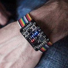 OPEN SOURCE BINARY WRISTWATCH IS PROFESSIONAL QUALITY
