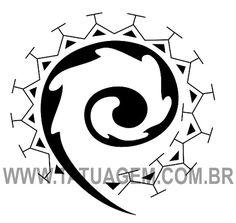 Significado dos simbolos maori     Círculos em Aspirais: São os círculos de vida que inclui o percurso da vida em curso, sem começo e sem ...