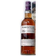 16YO TOMINTOUL SPEYSIDE GLENLIVET S.MALT (ANGUS DU   VINTAGES 298422 | 700 mL bottle     Price $ 94.95     Made in: Scotland, United Kingdom   By: Angus Dundee Limited     Release Date: N/A     Spirits, Whisky/Whiskey, Single Malt Scotch  40.0% Alcohol/Vol.