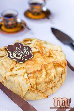 Framboisier crêpes - Macaronette et cie