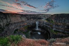Palouse Falls Sunrise by Mitch Schreiber on 500px