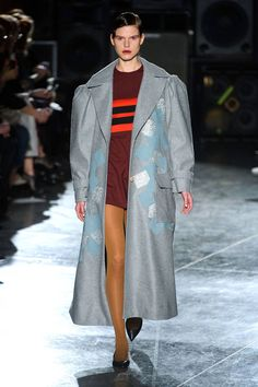 See all of the best looks from London Fashion Week: Jonathan Saunders