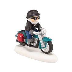 Department 56 North Pole Series Village Knucklehead on a Mission Accessory, 2-Inch