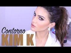Contorno de Kim Kardashian - como afinar o rosto com maquiagem! por Camila Coelho - YouTube