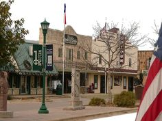 Town Square, Marble Falls, Texas
