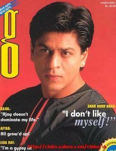 SRK - 'g' magazine cover March 2001