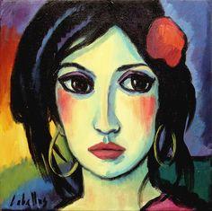 La mujer y el arte | Guillermo Martí Ceballos Pintor Fauvista y Expresionista