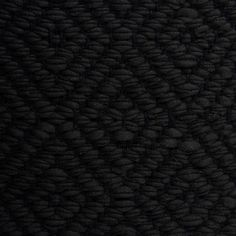 Diamond Twill, dark brown 0429 on the black yarn Vandra Rugs Yarn Colors, Colours, Natural Linen, Scandinavian Design, Wool Felt, Bespoke, Dark Brown, Rugs, Diamond