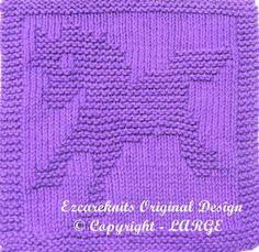 Knitting Pattern  TOY PONY  PDF by ezcareknits on Etsy