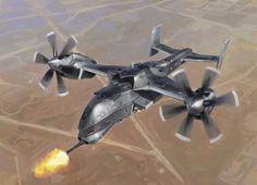 Stealth UAV thingy by John-Liberto - CGHUB