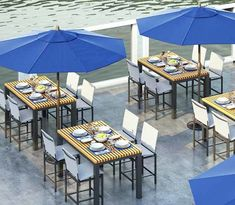 Homecrest Eden Rectangular Cafe Table Patio Dining, Outdoor Dining, Outdoor Decor, Falling Objects, Weekly Cleaning, Fire Table, Cafe Tables, Furniture Covers, Solid Surface