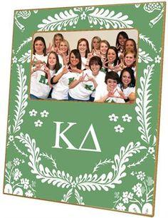 F935-Kappa Delta Sorority Picture Frame $46.00 #KappaDelta