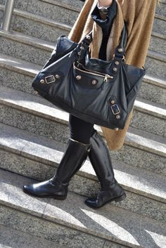 My life will be complete once I have my very own Balenciaga bag. In black a68a415edca39