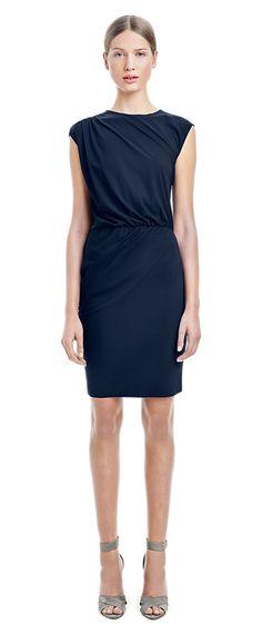 Drapey Shift Dress - Dresses - Shop Woman - Filippa K
