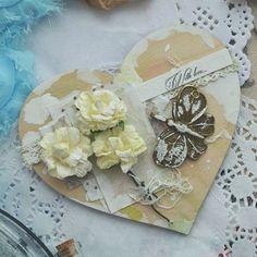 В НАЛИЧИИ!Деревянные открытки сердечки ❤ Это прекрас...