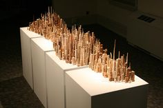 2   Awesome, Imaginary Cities Carved Out Of Wood   Co.Design   business + design
