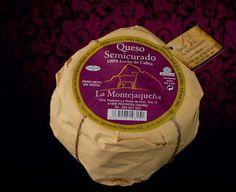 Queso Semicurado de Cabra Leche Pasteurizada La Montejaqueña