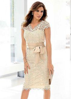 Sash Lace Dress