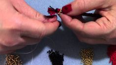 Beading Tutorial: come realizzare delle coppette con le perline