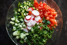 Ingredients for Mediterranean Fattoush Salad Recipe