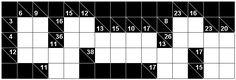 Number Logic Puzzles: 21886 - Kakuro size 3