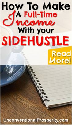 Thanks for posting this awesome article! Some great money making tips on how you need to think if you want to make your side hustle your full-time income! #makemoneyonline