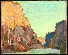 Specialists in selling artwork by Tom Thomson and other Canadian artists for over sixty years. Contact us to sell your artwork by Tom Thomson. Group Of Seven Artists, Group Of Seven Paintings, Emily Carr, Canadian Painters, Canadian Artists, Abstract Landscape, Landscape Paintings, Tree Paintings, Contemporary Landscape