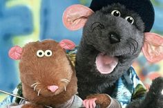 Roland Rat and Kevin the Gerbil... Omg, I remember watching this as a little girl living in the UK