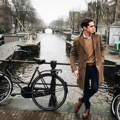 """matthiasgeerts: """"Looks like every time in Amsterdam the weather is grey, nevertheless we had a blast! #Amsterdam (at Amsterdam Canals) """""""