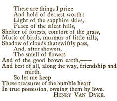 Henry Jackson van Dyke | Nov 10, 1852 - Apr 10, 1933 | American author, poet, educator, clergyman