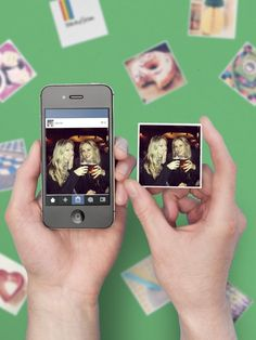 a fun idea to do with your wedding instagrams - turn them into cute little magnets!