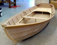Galveston Garvey Dory Easy Wooden Boat Plans