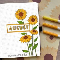 22 Hello August Bullet Journal Layout Ideas I am fairly late to the August party, but, I hate to leave you hanging. So, here are 22 hello August bullet journal layouts ideas!