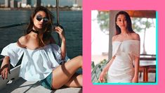 Chie Filomeno's Off-Shoulder Outfits Off Shoulder Outfits, Off Shoulder Jumpsuit, Shoulder Dress, Black Off Shoulder, Shoulder Cut, Off Shoulder Tops, Formal Looks, Teaser, Ph