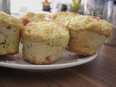 Pizza - Muffins, ww geeignet (Rezept mit Bild) von Sandy2509 | Chefkoch.de