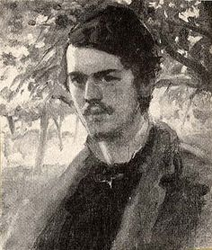 John Singer Sargent 1877, self portrait, Art Inventories Catalog, Smithsonian American Art Museums