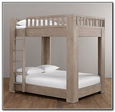 Full Over Full Size Bunk Beds (link takes you to a photo only but I could figure out how to build from this photo)
