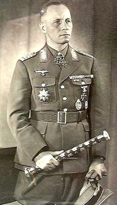 FOTO. Erwin Rommel was the most famous German field marshall of WWII. #Historia