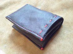 Mini wallet vera pelle nero porta documenti di robafattamman