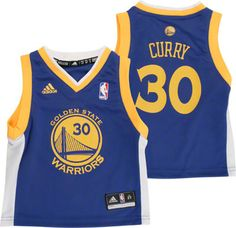 24f181c7 Golden State Wedding JZ Warriors Stephen Curry, Toddler Jerseys, Blue Adidas,  Golden State