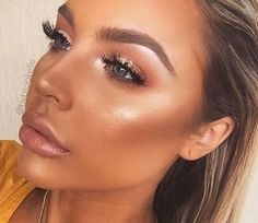 Tan/Bronzer Look