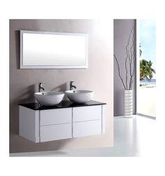 Ensemble de salle de bain ALCARAZ- Meuble Salle de bain double vasque - Décoration salle de bain