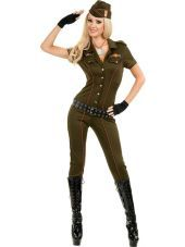 Adult Air Force Angel Military Costume-Top Costumes-Sexy Costumes-Halloween Costumes-Party City
