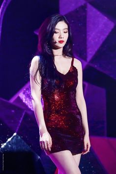 power up red velvet outfit joy \ power up red velvet outfit + power up red velvet outfit joy + red velvet power up outfits + red velvet outfits stage power up + red velvet power up outfits inspired + power up red velvet stage outfit Kpop Girl Groups, Korean Girl Groups, Kpop Girls, Stage Outfits, Kpop Outfits, Seulgi, Red Valvet, Red Velvet Joy, Kpop Fashion